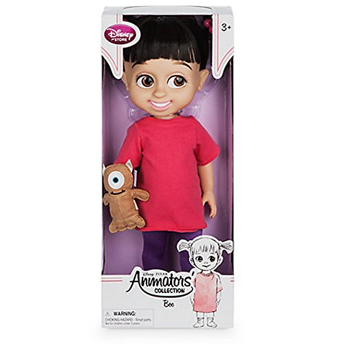 Disney Animators' Collection Boo Doll - Pixar Monsters Inc - 16'' - New (Monsters Inc Boo Doll)