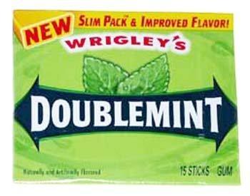 (Wrigley's Doublemint Gum Slim Pack 15 ct)