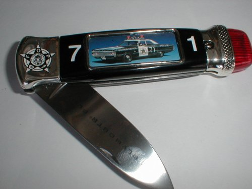 Franklin Mint Police Knife