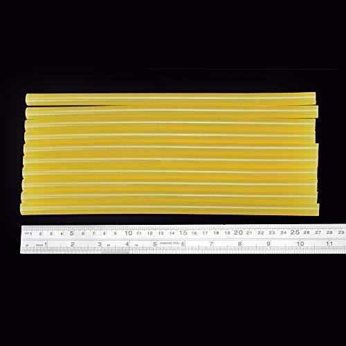 11 Post Flower Mm (QUAROS Chanseon 10pcs/lot Hot Melt Glue Sticks Yellow 11mm Stick 270mm Length Tools Alloy Accessories for Repair Adhesive Glue Sticks)