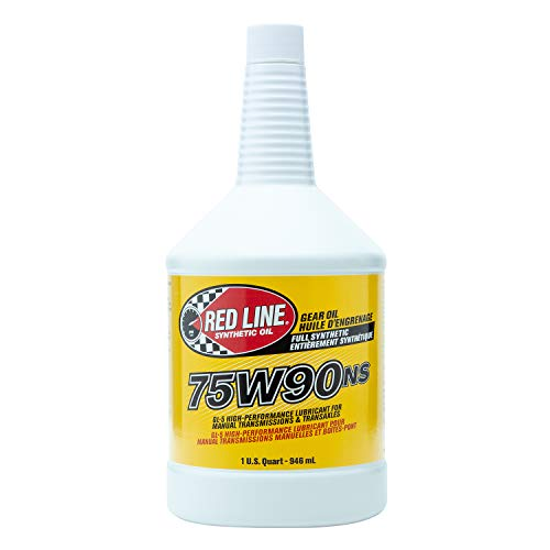 Red Line 58304 (75W90) Non-Limited Slip Synthetic Gear Oil - 1 Quart (Pack of 2) (Best Non Synthetic Oil)