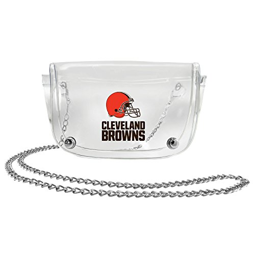 NFL Cleveland Browns Clear Carryall Crossbody