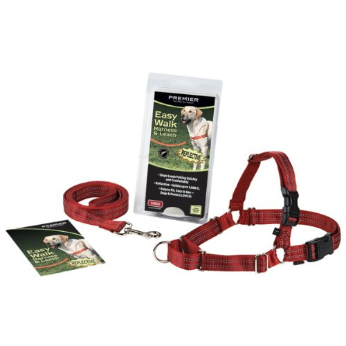 Reflective Easy Walk Dog Harness, Small, Red, My Pet Supplies