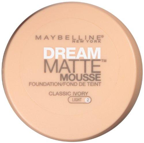 Maybelline fond de teint Dream Matte Mousse de New York, Classic Ivoire, 0,64 once