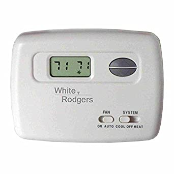 White Rodgers Digital Horizontal Heat/Cool Thermostat - 1F78-144