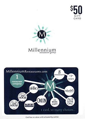 Millennium Restaurant Group $50 Gift Card ()