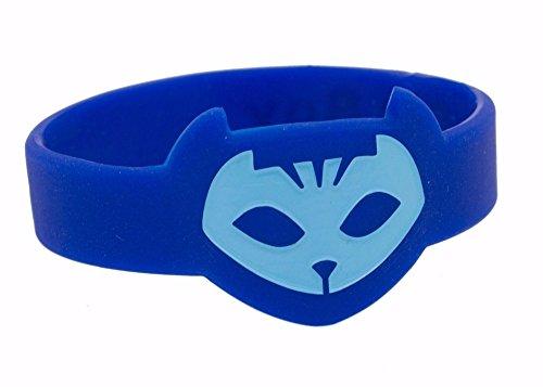[1pc Mask Wrist Band - Catboy] (Pj Masks Owlette Halloween Costume)