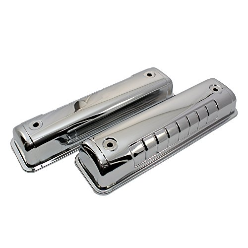Assault Racing Products A7541 for Ford Y Block 54-64 Chrome Valve Covers 272 292 312 (Best Small Block Ford Engine)