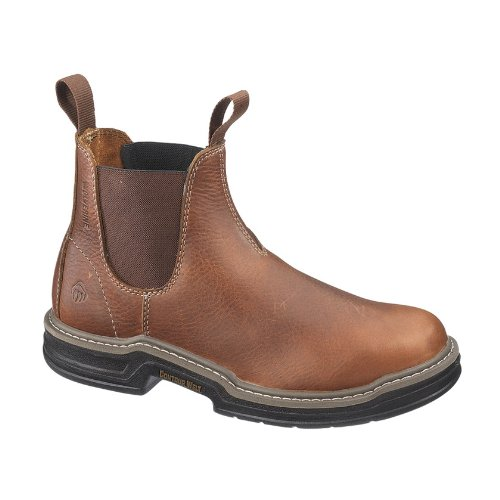 Wolverine Men's Raider Romeo Steel Toe EH Work Boot, Brown, 11 M (Point Toe Boot)