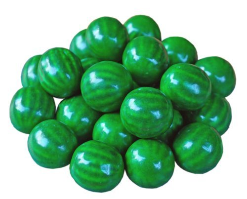 Watermelon Bubble Gum - Concord Watermelon Bubble Gum Balls 3 Lb (0.91