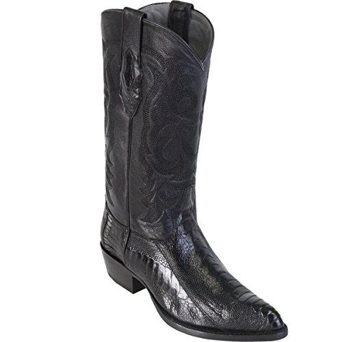 Leg Altos Ostrich Black Toe LeatherJ boots Los Boot Original AaWdXdq