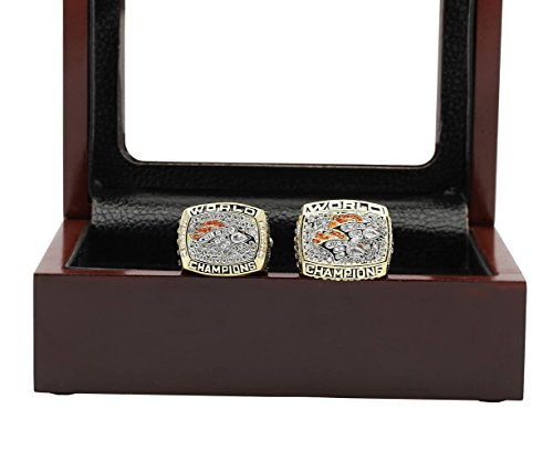 Broncos Display Cases (Den' 1997 1998 Broncos Ring Set Display Case)
