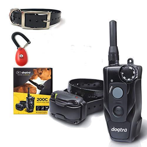 Dogtra 200C 1-Dog System- Bonus 1 Free Straps and SPC Dog Training clicker System
