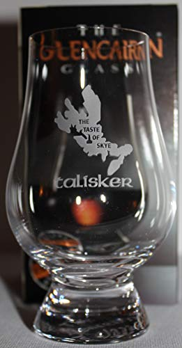 "TALISKER""THE TASTE OF SKYE"" GLENCAIRN SINGLE MALT SCOTCH WHISKY TASTING GLASS"