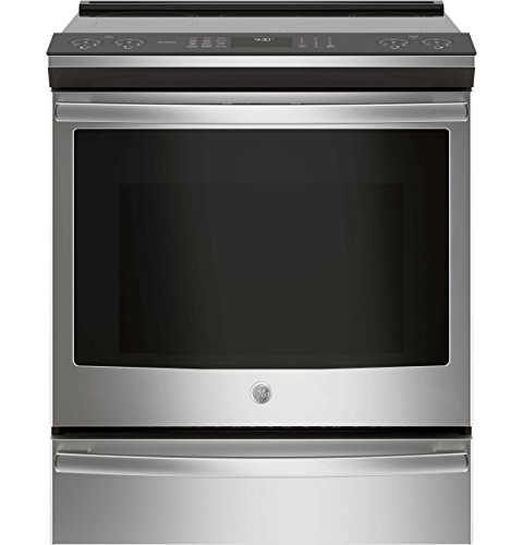 GE Profile PHS930SLSS 30 Inch Slide-in Electric Range with Smoothtop Cooktop, 5.3 cu. ft. Primary Oven Capacity, in Stainless Steel