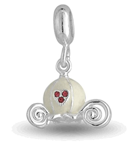 DaVinci Bead CARRIAGE - Jewelry Bracelet Memories Dangle DB93-15 Carriage Dangle Bead