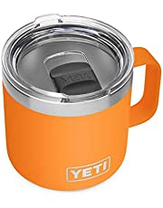 YETI Rambler 14 oz Mug, Vacuum Insulated, Stainless Steel with MagSlider Lid
