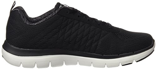 Skechers Sport Heren Flex Voordeel 2.0 De Happs Oxford Black / Whit
