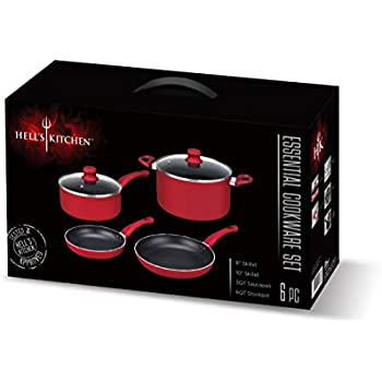 Amazon Com Hell S Kitchen Hk 417 6 Piece Essential