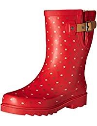 Chooka Women's Western Chief Waterproof Printed Mid Height Rain Boot