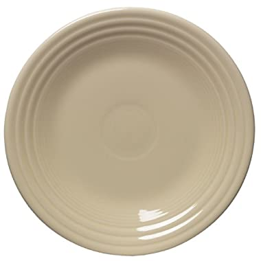 Fiesta 9-Inch Luncheon Plate, Ivory