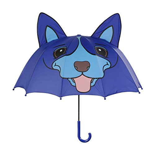 Kidorable Blue Dog Umbrella With Fun Pop-Out Ears, One Size by Kidorable