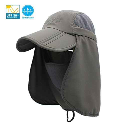171d50bde7574 UNIQME Sun Cap Fishing Hat for Men Women