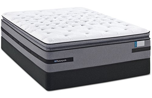 King Sealy Posturepedic Select Bellesguard Ultra Plush Euro Pillow Top Mattress (Posturepedic Sealy Plush)