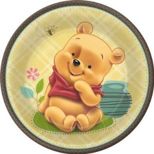 Hallmark - Disney Baby Pooh and Friends Dinner Plates