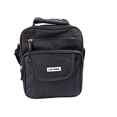 Lorenz Men's Messenger Multi Purpose Shoulder Travel Utility Bag 85%OFF