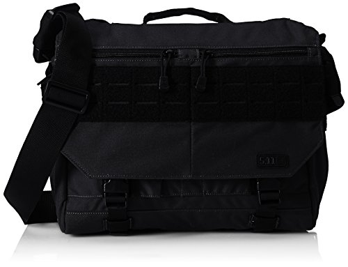 5.11 Rush Delivery Mike Tactical Messenger Bag, Small, Style 56176, Black