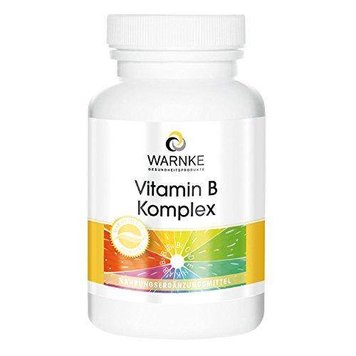 Warnke Gesundheitsprodukte Vitamin B Komplex (250 Tabletten), 1er Pack (1 x 155 g)
