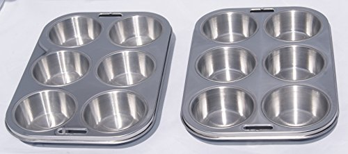 Stainless Steel Steel Muffin Pan - 5