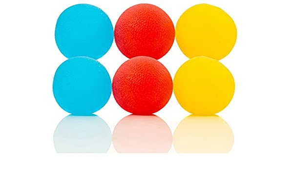 Impresa Products Paquete de 6 Pelotas antiestrés, antidesgarros ...