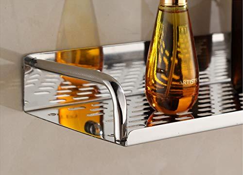 KIEYY plateau de haute qualité 304 salle de bains étagère murale de cuisine en acier inoxydable de 20 cm 30 cm 40 cm 50 cm 60 cm de long, 30cm