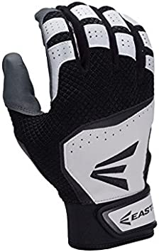 Easton Z7 VRS Black Medium Youth Baseball//Softball Batting Gloves Pair