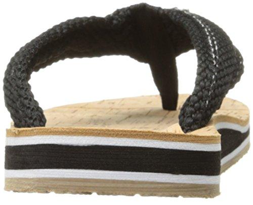 Cudas Mujeres Cumberland Flip Flop Black