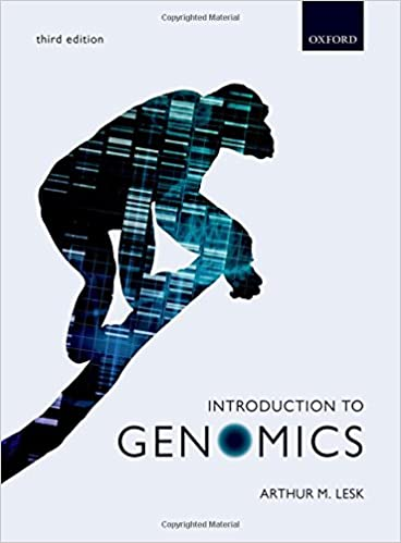Introduction to Genomics, 3rd Edition [ARTHUR M. LESK]