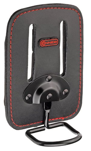 Connex COX951080 Etui de ceinture pour marteau en cuir Noir