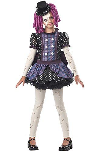 California Costumes Broken Doll Child Costume, -