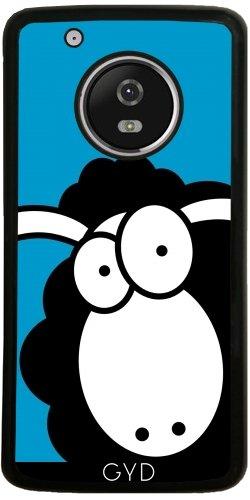 Funda de silicona para Moto G5 Plus - Oveja Negra by Warp9