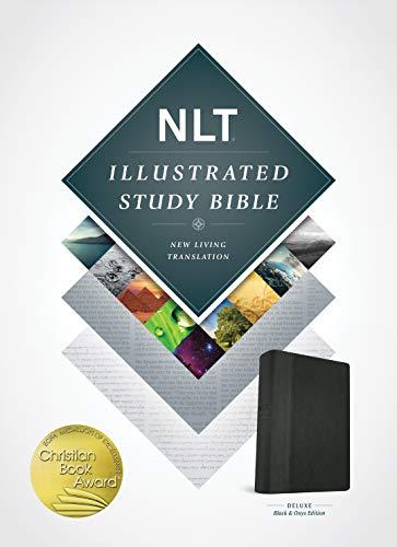 (Illustrated Study Bible NLT, TuTone (LeatherLike, Black/Onyx))