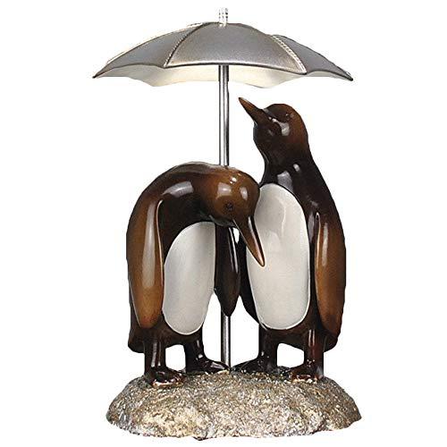 Estatua animal abstracta,Decoración moderna de la sala de estar del hogar, escultura de pingüino, decoración de resina, dormitorio, estudio, vitrina, oficina, regalo de arte (20 × 18 × 31 cm) por WY-BUILD