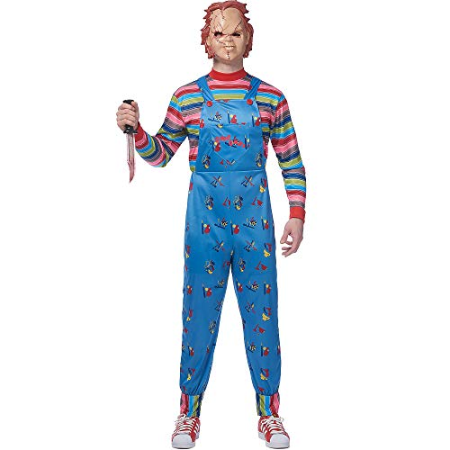 Mens Chucky Costume - ST]()