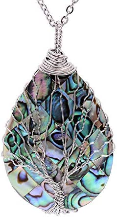 sedmart Abalone Pendent Necklace Handmade product image