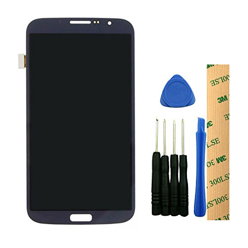 For Samsung Galaxy Mega 6.3 i9200 i527 L600 R960 Black LCD Display Touch Screen Digitizer Assembly Replacement Repair Part