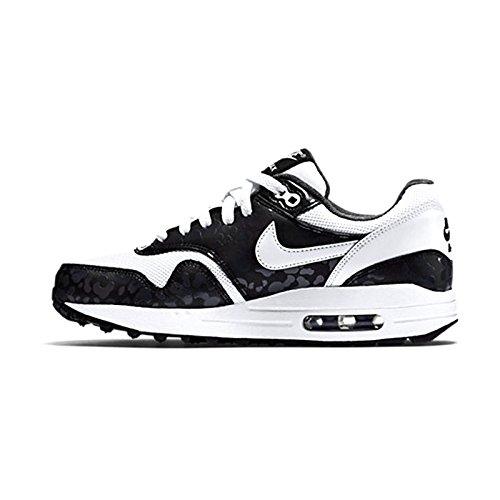 Nike - Air Max 1 Print - 705479101 - Farbe: Schwarz-Weiß - Größe: 36.5