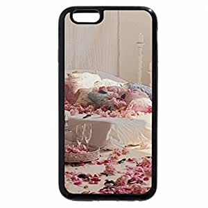 iPhone 6S / iPhone 6 Case (Black) bed of roses