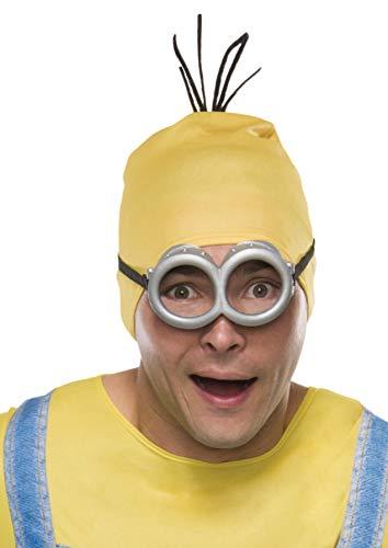 Rubie's Men's Minion Stewart Headpiece, Yellow, One Size