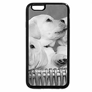 iPhone 6S Plus Case, iPhone 6 Plus Case (Black & White) - Adorable Brotherhood